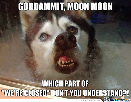 Goddammit, Moon Moon!
