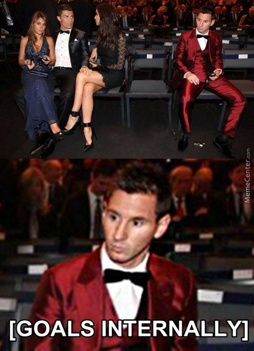 Goddamnit That's An Awful Suit Messi