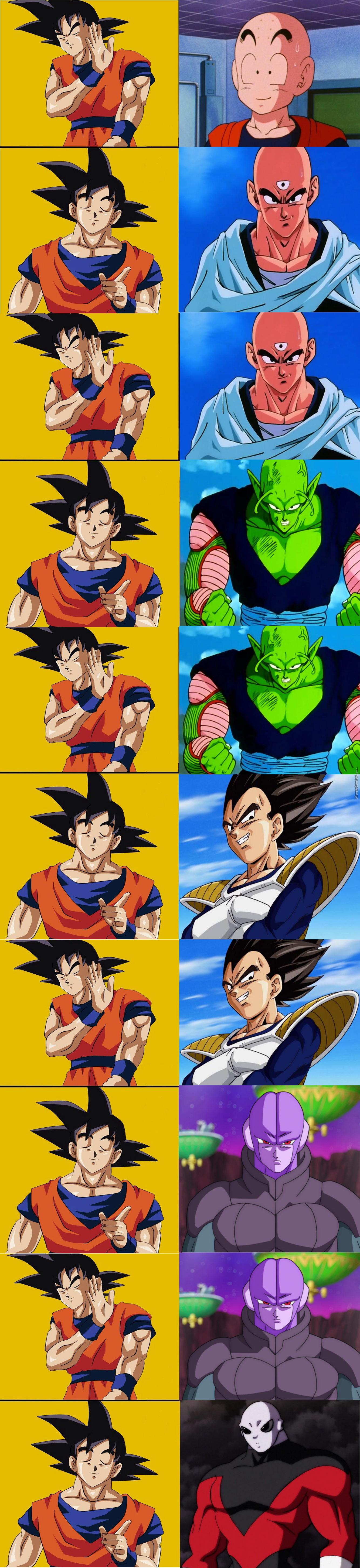 Goku's Such A Whore