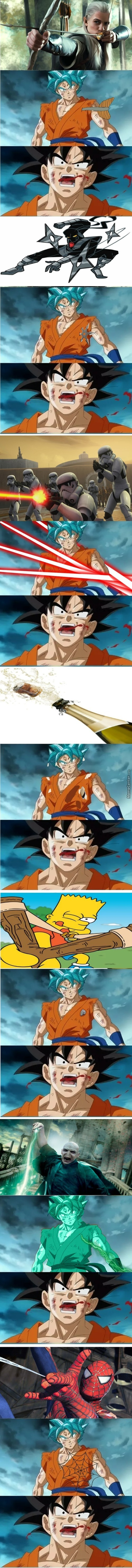 Goku Died More Than Kenny