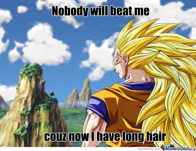Goku's Hair Becomes Stronger