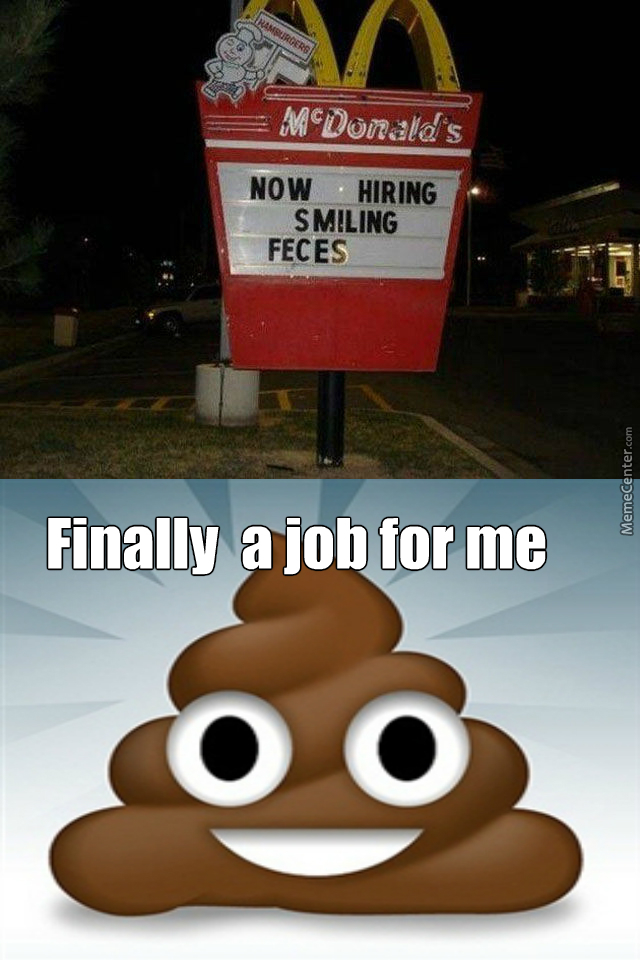 Good For You Smiling Feces