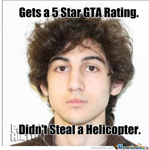 Boston Bomber playing GTA