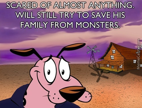 Good Guy Courage The Cowardly Dog