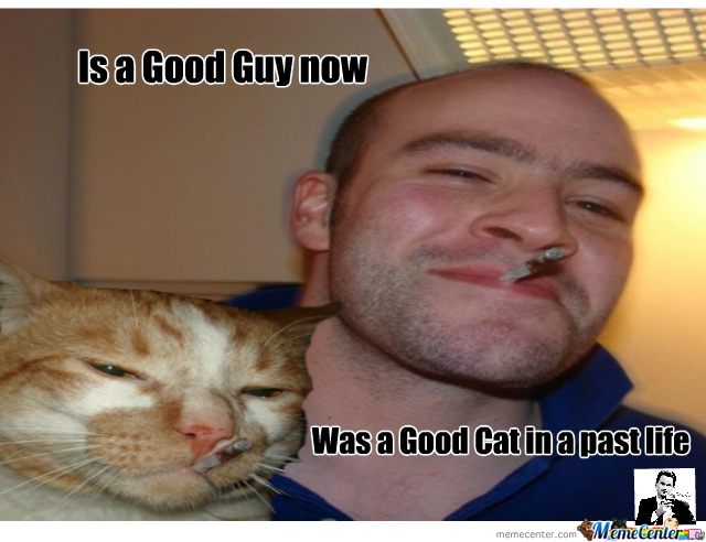 Good Guy Greg Now In Cat Form!?