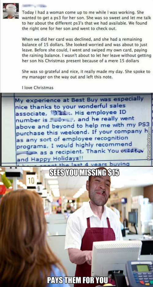 Good Guy Greg Works At Best Buy