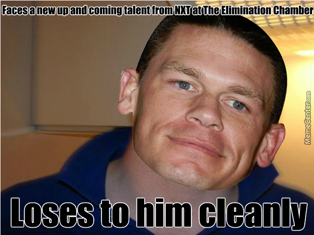 Funny Meme Kevin : Good guy john cena gives push to kevin owens by recyclebin meme