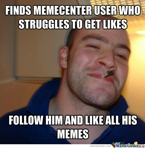 Good Guy Memecenter User