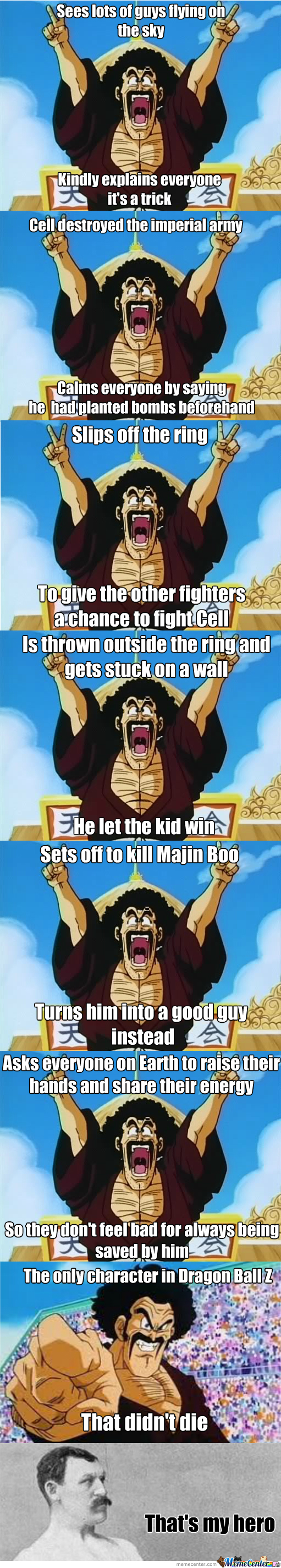 good guy mr satan_o_1929373 good guy mr satan by yamiryuuzero meme center