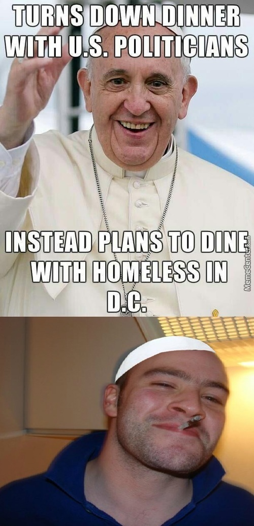 Good Guy Pope Francis