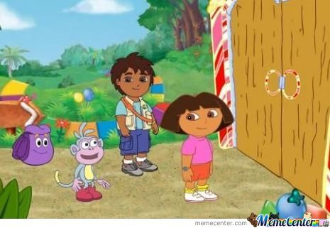 Good Job Dora, We Made It To The Border!
