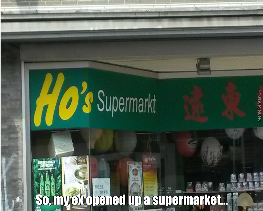 Good Name For A Supermarket by recyclebin - Meme Center
