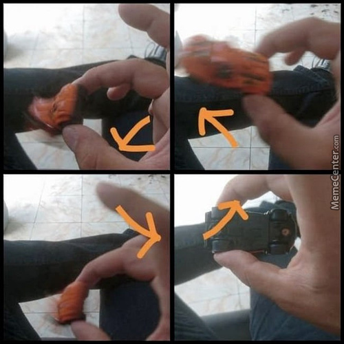 Good Old Days, The Real Fidget Spinner