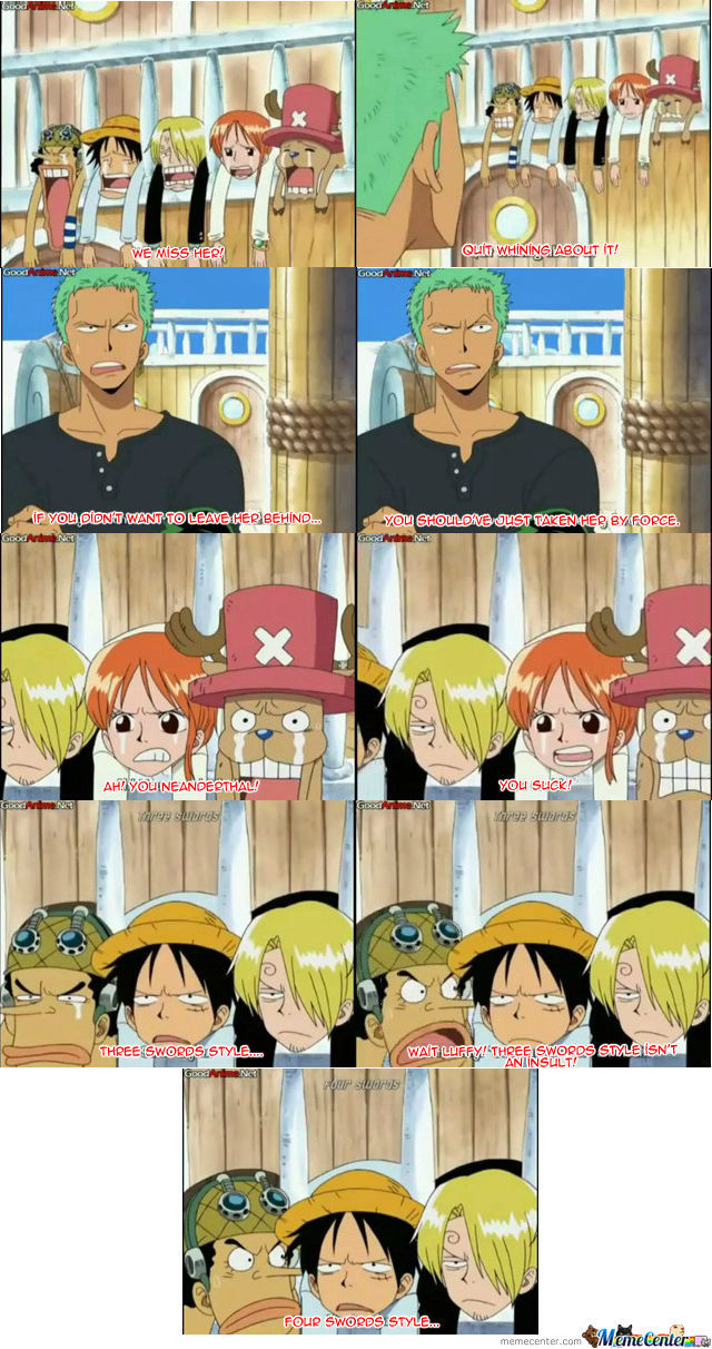 Good Try, Luffy....