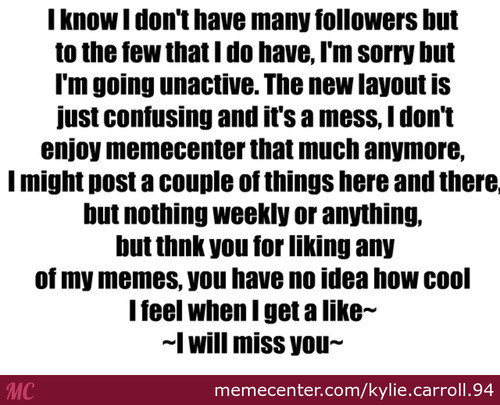 Goodbye The Awesome People Who Actually Read This!~