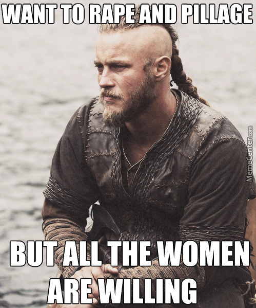 #goodlooking Viking Problems