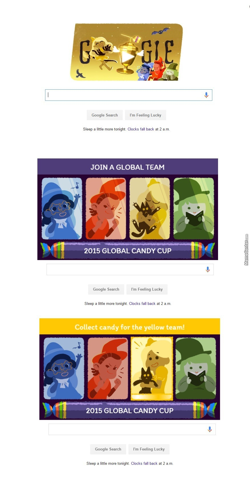 google halloween global candy cup game see source to play the game