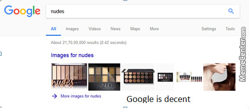 Google Is Decent