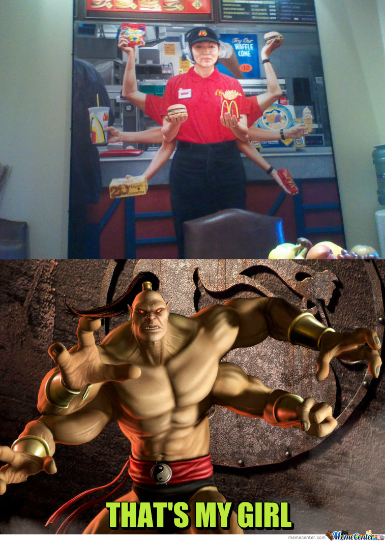 Goro Approves.