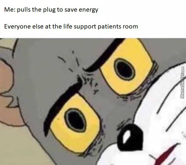 Gotta Save Energy, Right? Environment And Stuff...