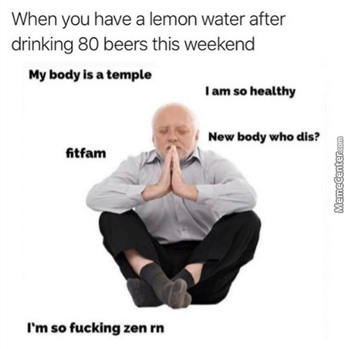 Gotta Stay Healthy