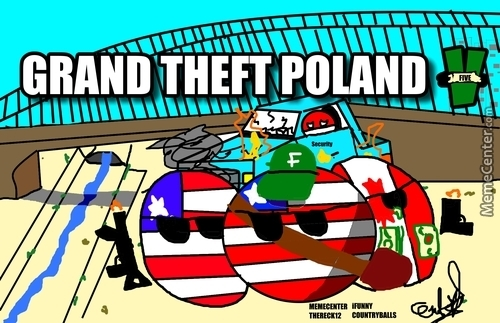 Grand Theft Poland (Took Me Two Hours Lel)