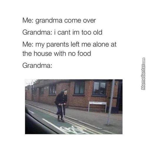 Grandpa Come Over :d