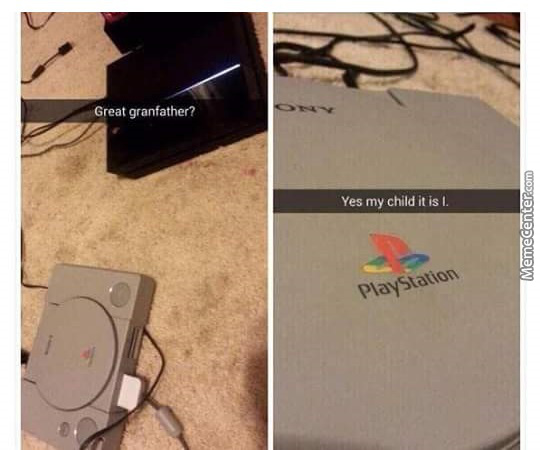 Great Grandfather... Is That You Playstation?