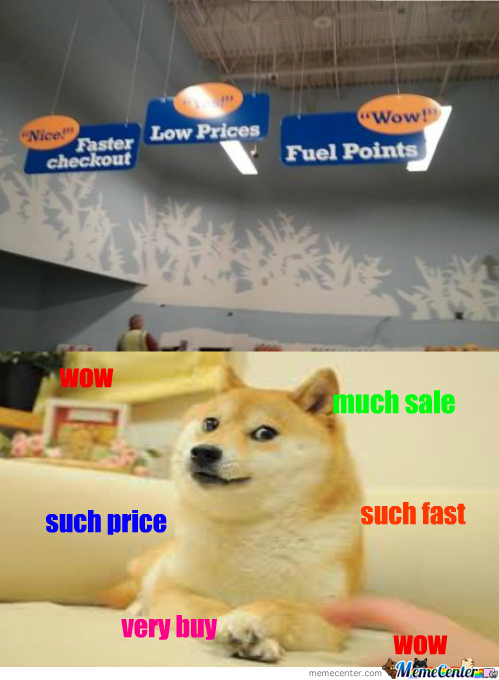 Great Sales At The Nearest Doge Store
