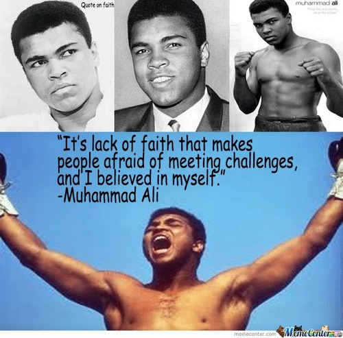 Great Words From Muhammad Ali