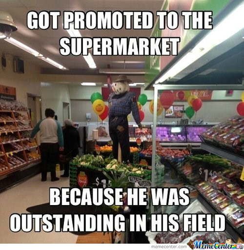 Great Worker Scarecrow