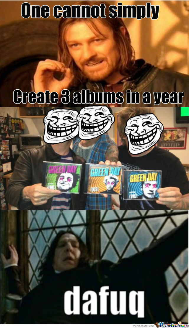 Green Day Ftw
