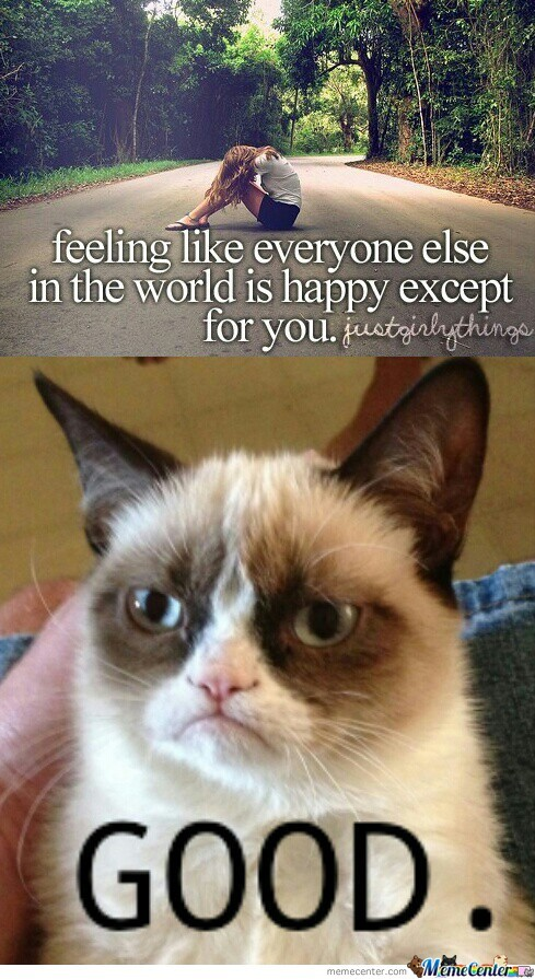 Grumpy Cat Being Grumpy