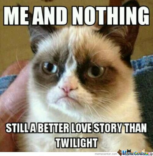 Grumpy Cat Vs. Twilight
