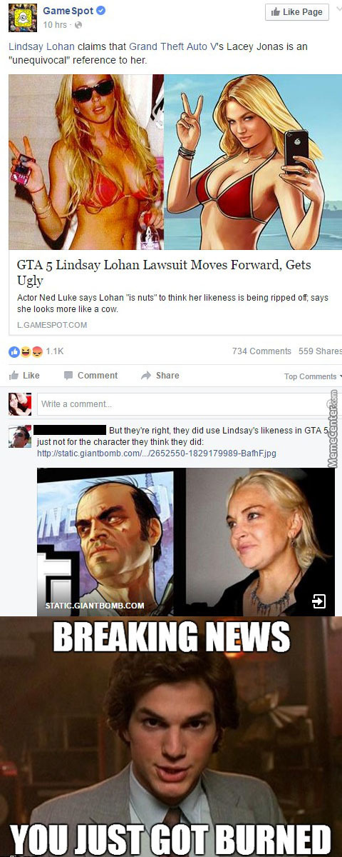 Gta Lindsay Lohan Gg No Re