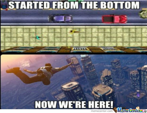 Gta Then And Now