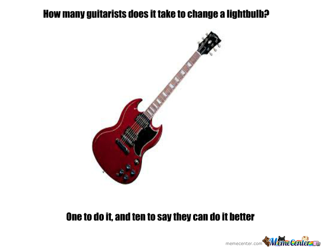 Guitar Joke By Kenpachiramasama Meme Center