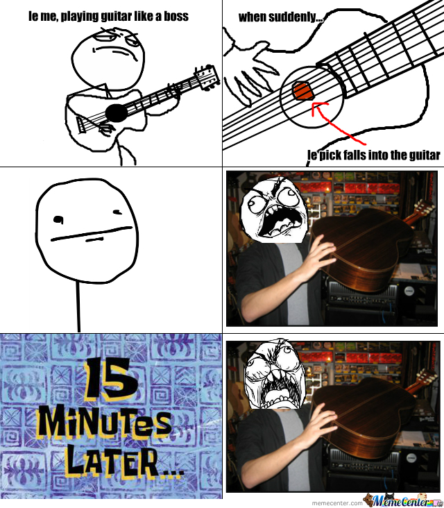 Guitar Pick Rage