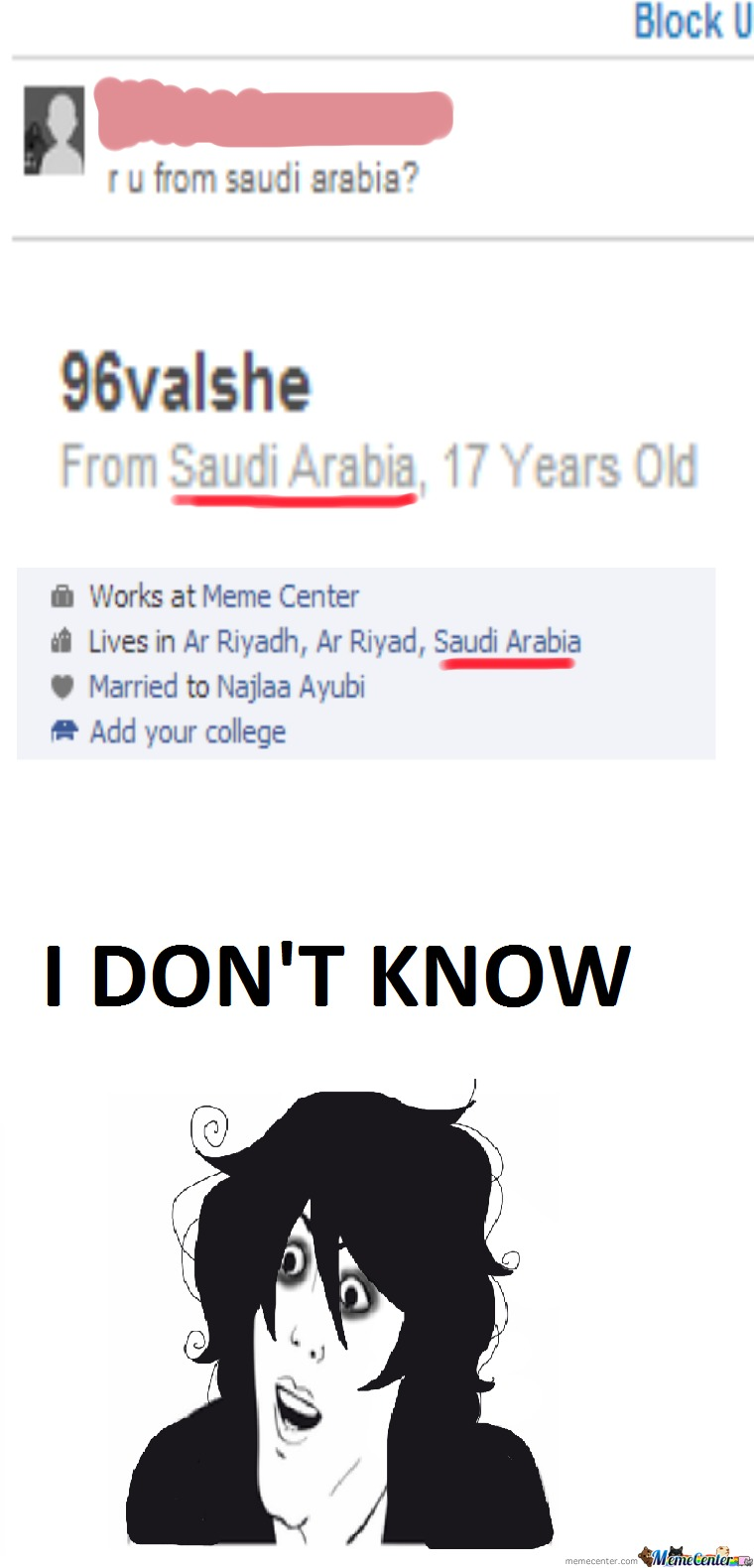 Guys I Think I'm From Saudi Arabia