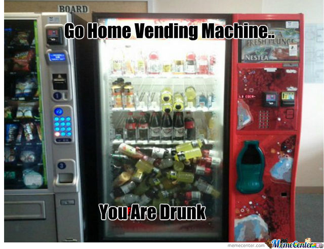 Go Home Vending Machine