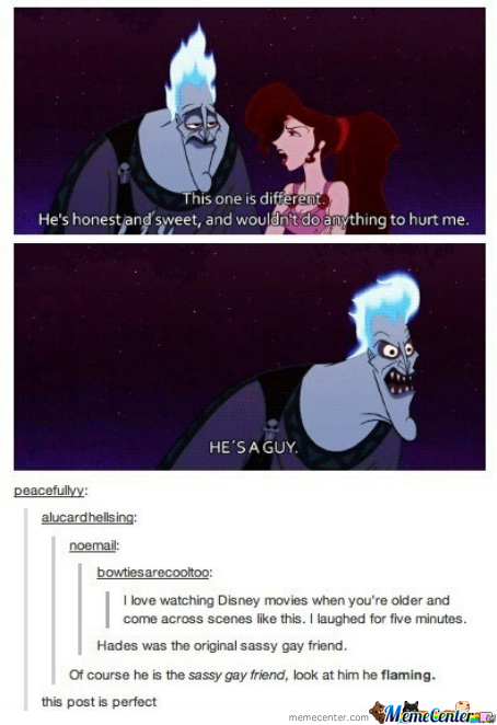 Hades Is Flaming