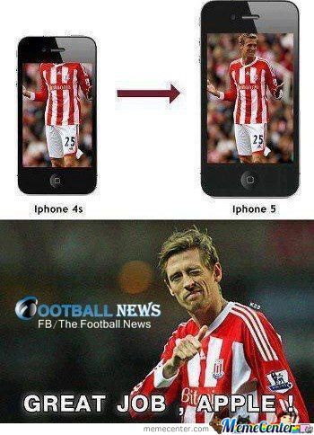 Haha Peter Crouch !!!
