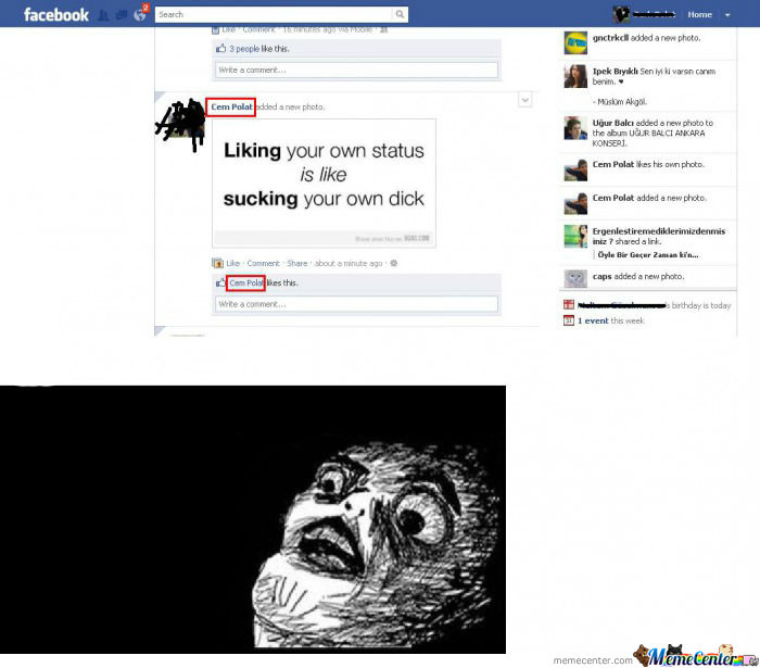 Hahahaha, That Moment When You Troll Yourself.. :p