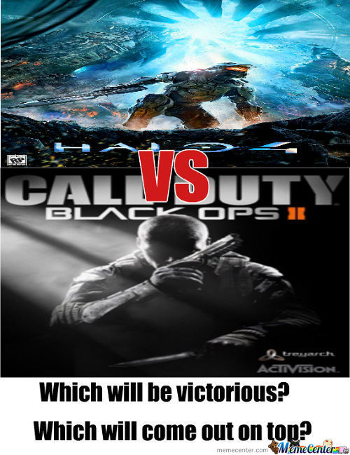 Halo 4 Vs. Black Ops 2