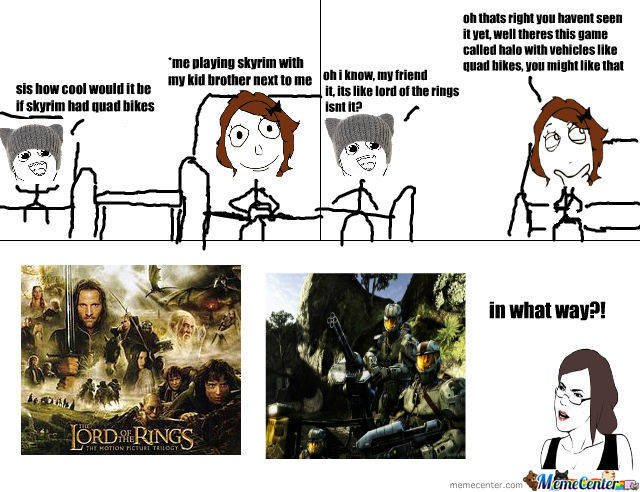 Halo And Lotr