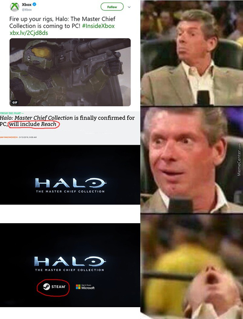 Halo Is Gonna Be On Pc Again ! Hooray !