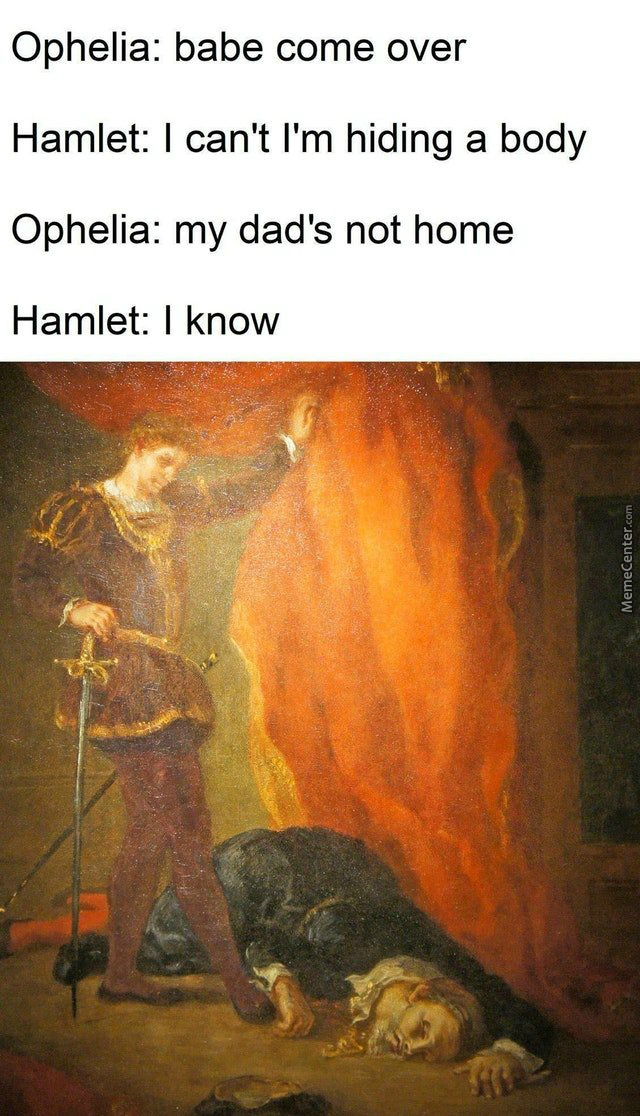 Hamlet: Just Give Me 5 Minute