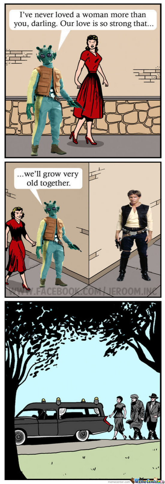 Han Shot First! Comic Remix (Credit To Jeroom)