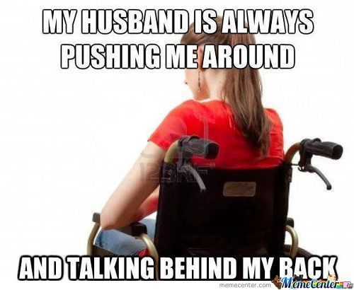 Handicapped Wife Problem