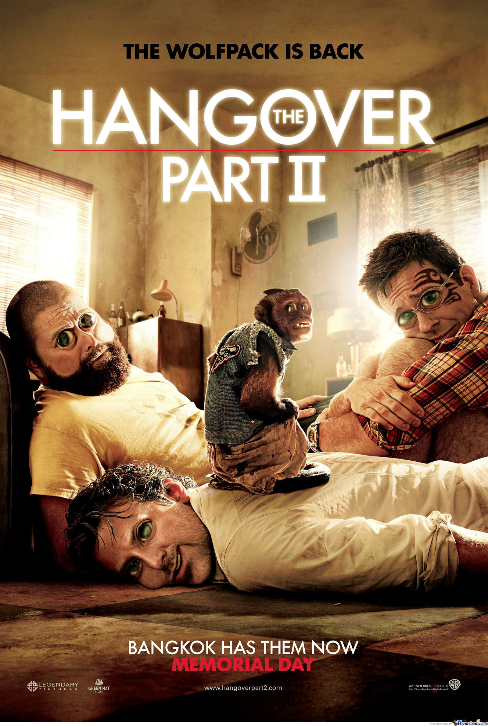 Hangover 2 Cubby Version By Recyclebin Meme Center